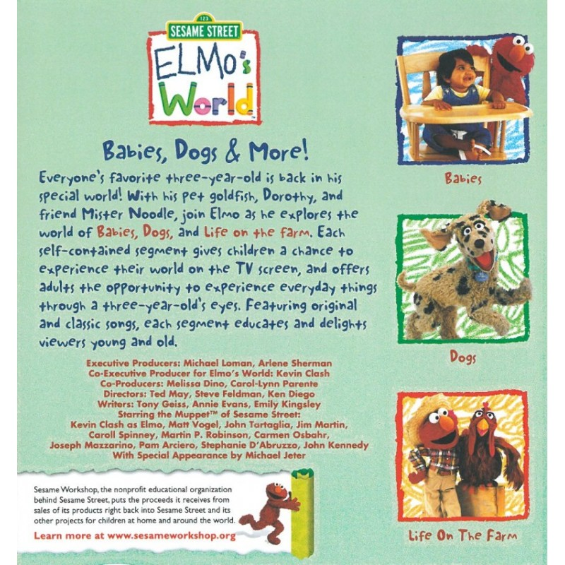 Elmo S World Vhs Tapes Pictures To Pin On Pinterest